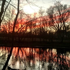 Photo taken at Mystic River Reservation by Charlene on 1/21/2013