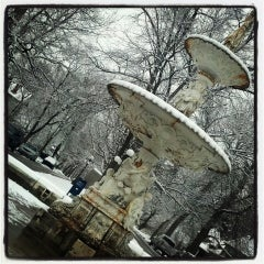 Photo taken at Woodruff Place Park by Angie B. on 3/6/2013
