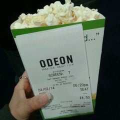 Photo taken at Odeon by Miikael T. on 2/4/2014