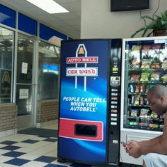 Photo taken at Autobell Car Wash by Ouida M. on 5/26/2012