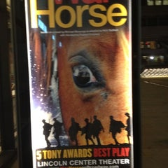 Photo taken at Warhorse @ Vivian Beaumont Theater by Nevah A. on 3/7/2012