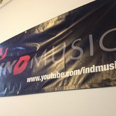 Photo taken at INDMUSIC by Arshan S. on 2/12/2013