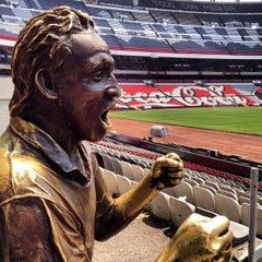 Photo taken at Estadio Azteca by Jorge S. on 5/7/2013