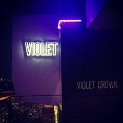 Photo taken at Violet Crown Cinema by Michael C. on 12/20/2012