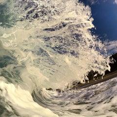 Photo taken at West Street Beach by Matt W. on 9/28/2014