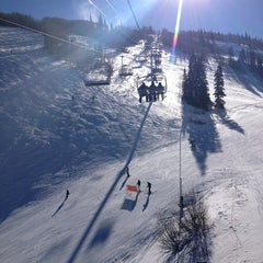 Photo taken at Park City Mountain Resort by Carly L. on 12/25/2012