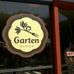 Photo taken at Garten Bistrô by Queen E. on 4/28/2013