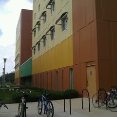 Photo taken at USF Juniper-Poplar Hall by Loni L. on 12/12/2012
