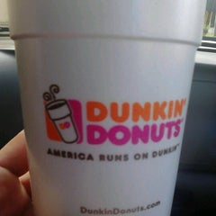 Photo taken at Dunkin Donuts by Hilary T. on 2/4/2013