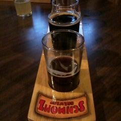 Photo taken at Schmohz Brewing Co. by Sarah K. on 10/13/2012