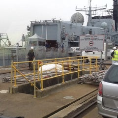 Photo taken at HM Naval Base by Colin I. on 11/27/2013