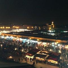Photo taken at Place Jemaa el-Fna | ساحة جامع الفناء by Oskay S. on 2/16/2013