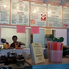 Photo taken at Boba And Crepes by kristina marie s. on 6/8/2014