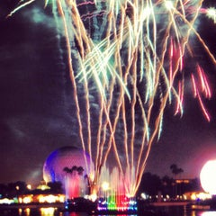 Photo taken at IllumiNations: Reflections of Earth by Daniel S. on 1/14/2013