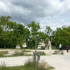 Photo taken at Glanum by Longboard34 D. on 5/31/2013