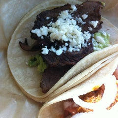 Photo taken at Dorado Tacos & Cemitas by Mai N. on 3/15/2013