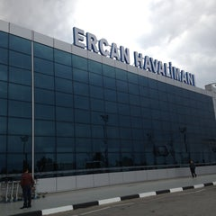 Photo taken at Ercan Havalimanı | Ercan Airport by Kerim on 4/18/2013