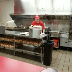Photo taken at Five Guys by Michael K. on 4/11/2013