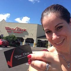 Photo taken at Winn-Dixie by Valerie M. on 8/13/2014