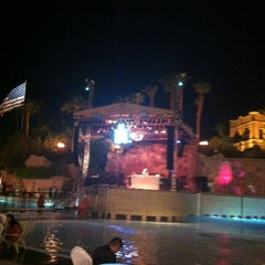 Photo taken at Mandalay Bay Beach by Linda M. on 6/30/2013