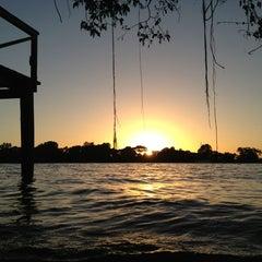 Photo taken at Ilha das Flores by Leandro B. on 12/23/2012