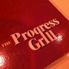 Photo taken at The Progress Grill by Jerry K. on 7/25/2013