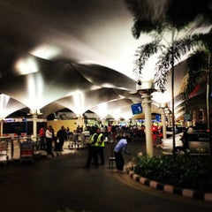 Photo taken at Chhatrapati Shivaji International Airport (BOM) by Viral O. on 1/11/2013