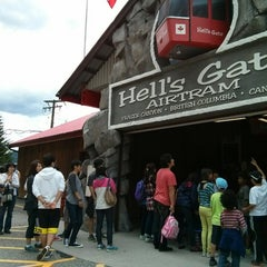 Photo taken at Hell's Gate Airtram by Yuuko N. on 6/9/2014