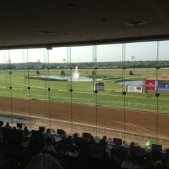 Photo taken at Lone Star Park by Marty C. on 6/28/2013