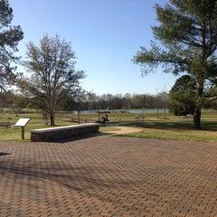 Photo taken at Lamar Park-Lake Patsy by Jillian O. on 4/6/2013