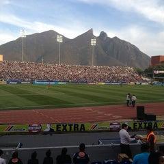 Photo taken at Estadio Tecnológico by Justin A. on 3/13/2013