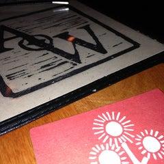 Photo taken at Atwood's Tavern by Tiago Allen O. on 3/19/2013