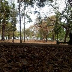 Photo taken at Parque Mirador Sur by Carlos R. on 4/6/2013
