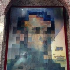Photo taken at Teatre-Museu Salvador Dalí by Atilla Y. on 12/30/2012
