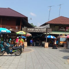 Photo taken at สามชุก ตลาด 100 ปี (Samchuk Market) by Asadawut on 10/21/2012