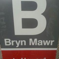 Photo taken at CTA - Bryn Mawr by Angela L. on 12/20/2012
