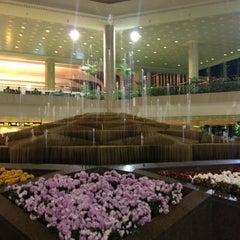 Photo taken at King Fahd International Airport (DMM) مطار الملك فهد الدولي by Mohab H. on 5/5/2013