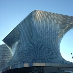 Photo taken at Plaza Carso by Cindy L. on 1/30/2013
