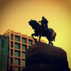 Photo taken at Plaza Independencia by Aldana S. on 2/8/2013