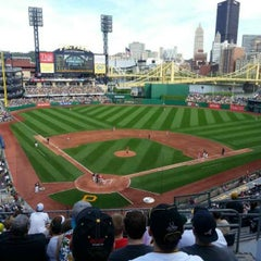 Photo taken at PNC Park by Jeffrey B. on 5/4/2013