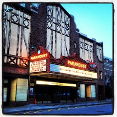 Photo taken at Paramount Center For The Arts by Ricky F. on 2/19/2013