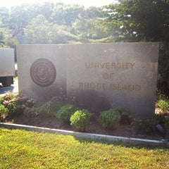 Photo taken at University of Rhode Island by Robby W. on 8/21/2013