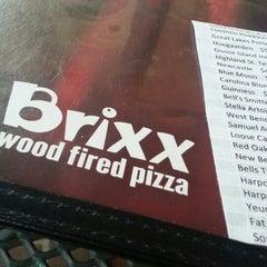 Photo taken at Brixx Wood Fired Pizza by Matt T. on 3/9/2013