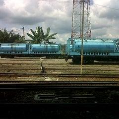 Photo taken at Stasiun Rantauprapat by Mawar O. on 12/27/2012