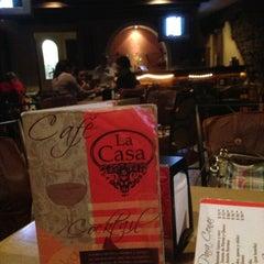 Photo taken at Cafe La Casa by Diego G. on 8/19/2013