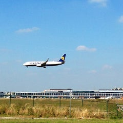 Photo taken at Brussels South Charleroi Airport (CRL) by gaetan s. on 9/3/2013