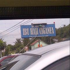 Photo taken at Rumah Makan Ibu Haji Ciganea by Vega L. on 12/23/2012