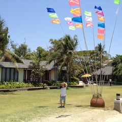 Photo taken at Fishermans Village Resort Phetchaburi by pakpong s. on 4/19/2013