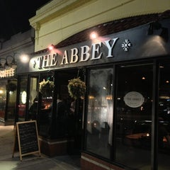 Photo taken at The Abbey by Chris D. on 3/16/2013