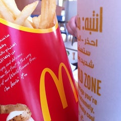 Photo taken at McDonald's | ماكدونالدز by Abeer T. on 3/6/2013
